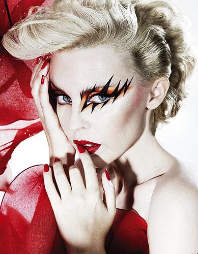 Kylie Minogue. Sesja do clipu