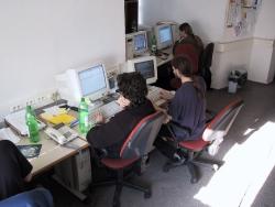 Pracownicy działu Internet - marzec 2001