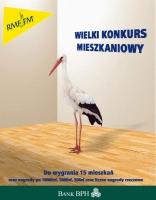 Plakat konkursu Monopol mieszkaniowy