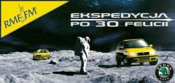 Plakat akcji Ekspedycja po 30 Felicji