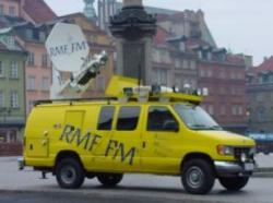 Pierwszy wóz satelitarny RMF FM
