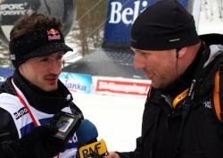 Maciej Pałahicki rozmawia z Adamem Małyszem
