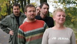Pracownicy działu Internet - październik 2007