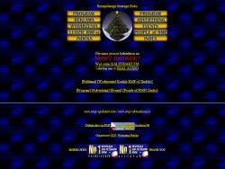 Zrzut stron www.rmf.pl z grudnia 1996 roku.