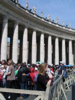 Watykan w dniu śmierci Jana Pawła II