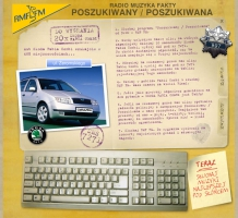 Layout serwisu Poszukiwany/Poszukiwana - wygraj samochód (2003)