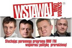 Kreacja internetowa programu Wstawaj, szkoda dnia (jesień 2009)