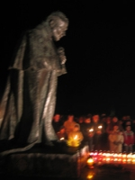 Ludźmierz po śmierci Jana Pawła II