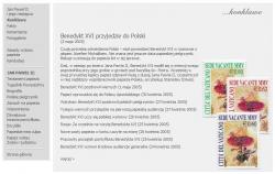 Śmierć Jana Pawła II - specjalny serwis www
