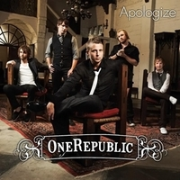 Okładka singla OneRepublic <i>Apologize</i>