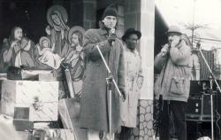 od lewej: Marcin Wrona, Brian Scott i Paweł Pawlik