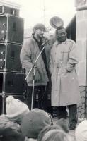 Paweł Pawlik i Brian Scott
