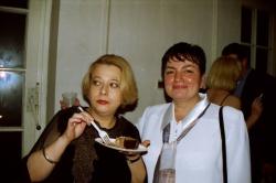od lewej: Ewa Stykowska i Konsolata Suder