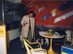 Stoisko RMF FM na targach MIDEM