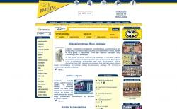 Zrzut strony głównej (2000 r.)