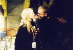 Marzena Rogalska i Adam Nowak z zespołu Raz Dwa Trzy