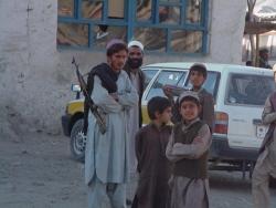 Droga do Kabulu - postój