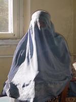 Kobieta w Burce