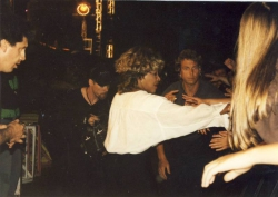 Tina Turner przed koncertem