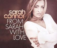 Okładka zwycięskiego singla Sarah Connor - 'From Sarah With Love'