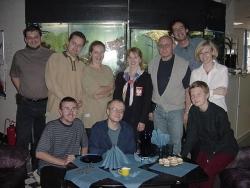 Pierwszy od lewej: Andrzej Młodzik