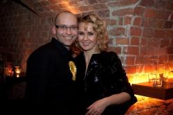 Paweł Mleczko i Magdalena Wojewoda