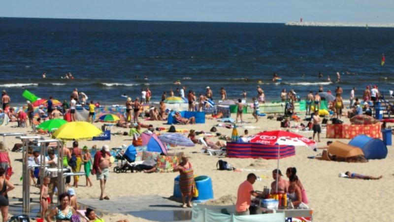 Plaża w Świnoujściu  / Fot. Aneta Łuczkowska, RMF FM