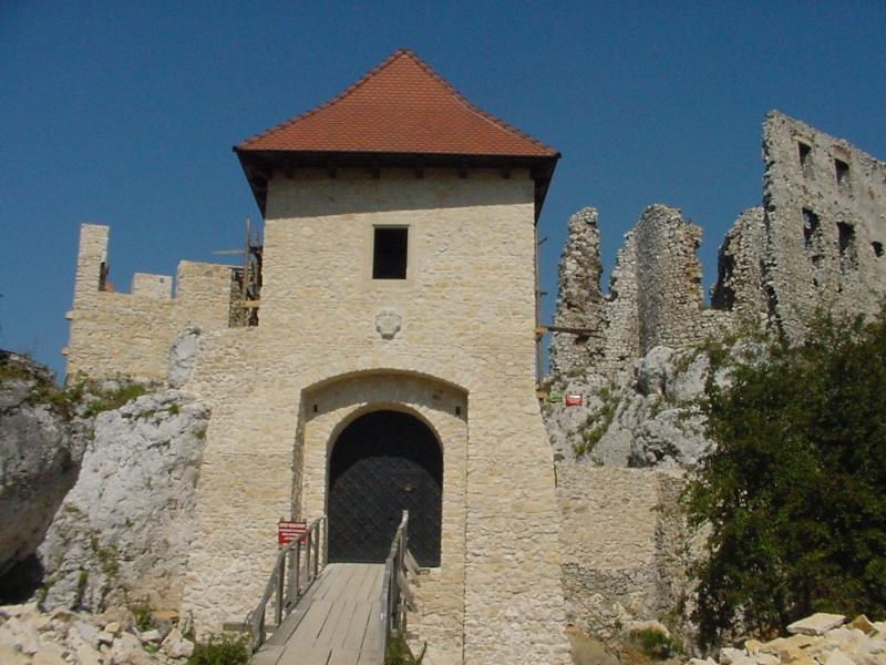 Wejście na zamek