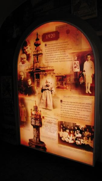Dom papieski - wnętrze/ foto. arch. RMF FM