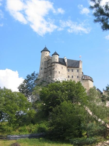 Ściana zachodnia zamku