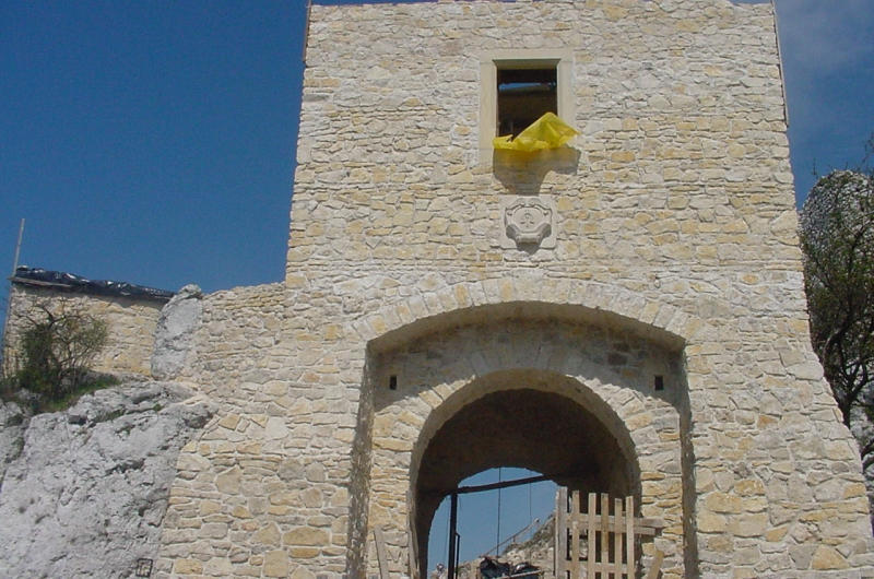 Odbudowa zamku