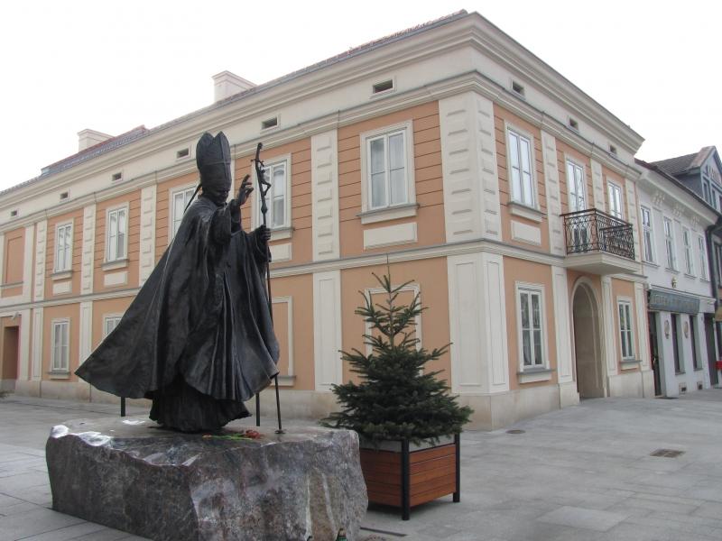 Dom papieski w Wadowicach/ foto. Maciej Pałahicki RMF FM