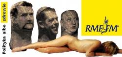 Plakat kampanii Polityka albo zdrowie