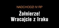 Plakat kampanii Nadchodzi IV RP