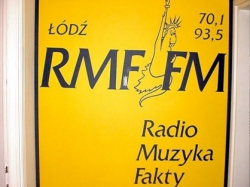 Pierwsza siedziba RMF FM w Łodzi