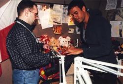 Enrique Iglesias z Marcinem Jędrychem