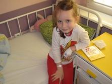 Mali pacjenci ze szpitala w Poznaniu