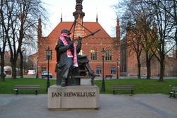 Pomnik Jana Heweliusza w Gdańsku