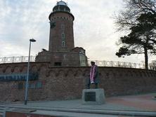 Pomnik komandora Stanisława Mieszkowskiego w Kołobrzegu