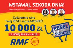 Twój Szczęśliwy PESEL w RMF FM link=