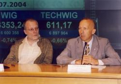 Po lewej S. Tyczyński