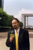 Marek Gładysz - korespondent RMF FM w Paryżu