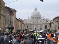 Watykan w dniu pogrzebu Jana Pawła II