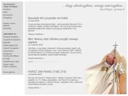 Śmierć Jana Pawła II - serwis www