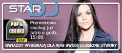 Dominika Gawęda w audycji Star DJ