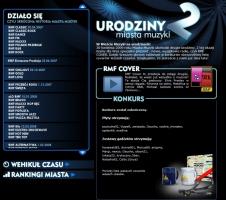 Specjalny serwis na 2. urodziny Miasta Muzyki