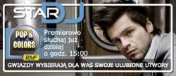 Łukasz Zagrobelny w audycji Star DJ