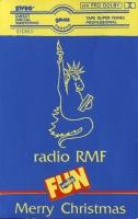 Okładka pierwszej bożonarodzeniowej kasety radia RMF