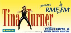 Plakat promujący koncert Tiny Turner