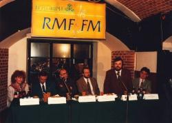 Od lewej: J. Zaręba, A. Chmielewski, J. Quandt, S. Tyczyński, E. Miszczak, M. Dworak